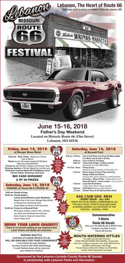 Updated Schedule For Lebanon Route 66 Festival Lebanonroute66 Com