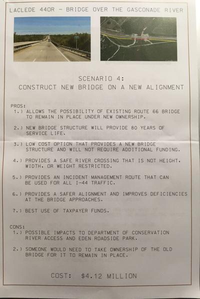 MoDOT chooses Scenario 4: New bridge, old bridge stays -- for now