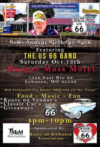 Bob's Birthday Bash flyer