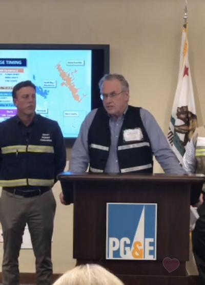 PG&E Press Conference October 22, 2019