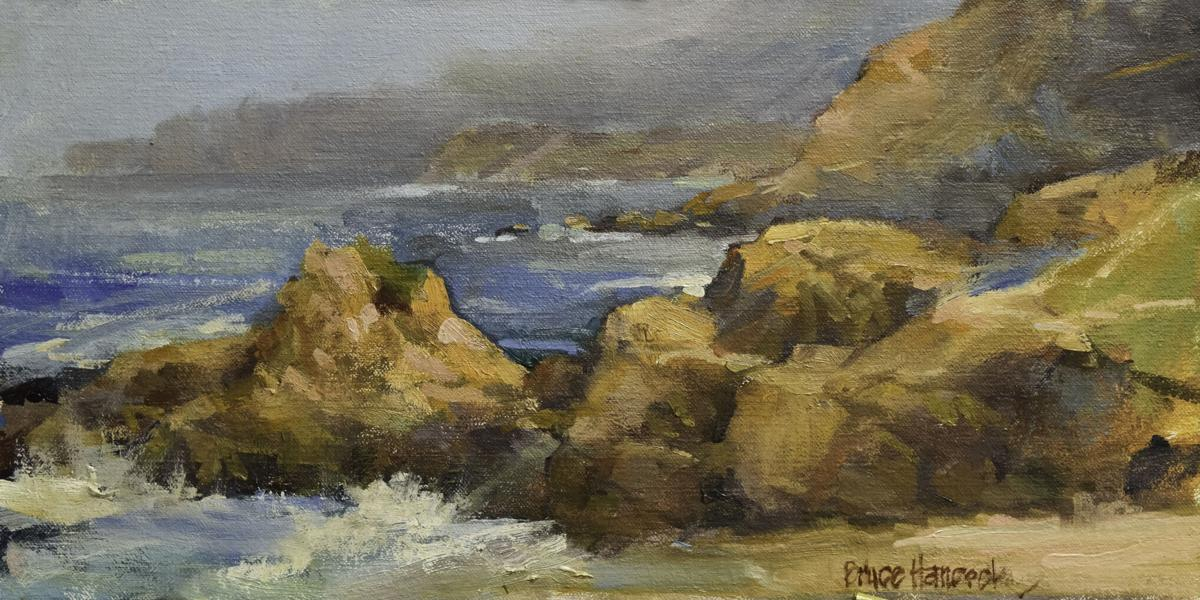 Bodega Bay Shoreline by Bruce Barton Hancock