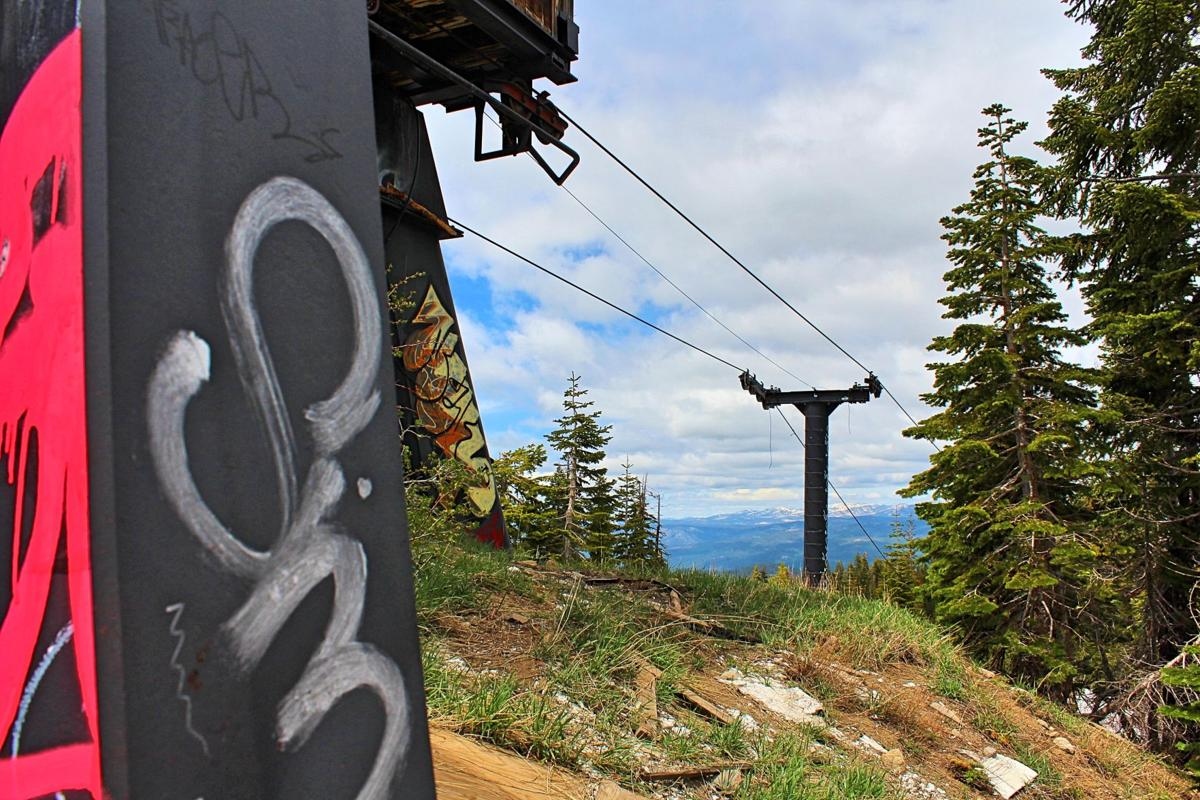 4. Remaining structures which made up Iron Mountain Ski Resort continue to decay, subject to snowfall, urban exploring, mysterious fires and vandalism. Photo by Sarah Spinetta.jpg