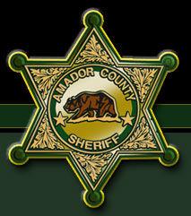 Amador County Sheriff Badge