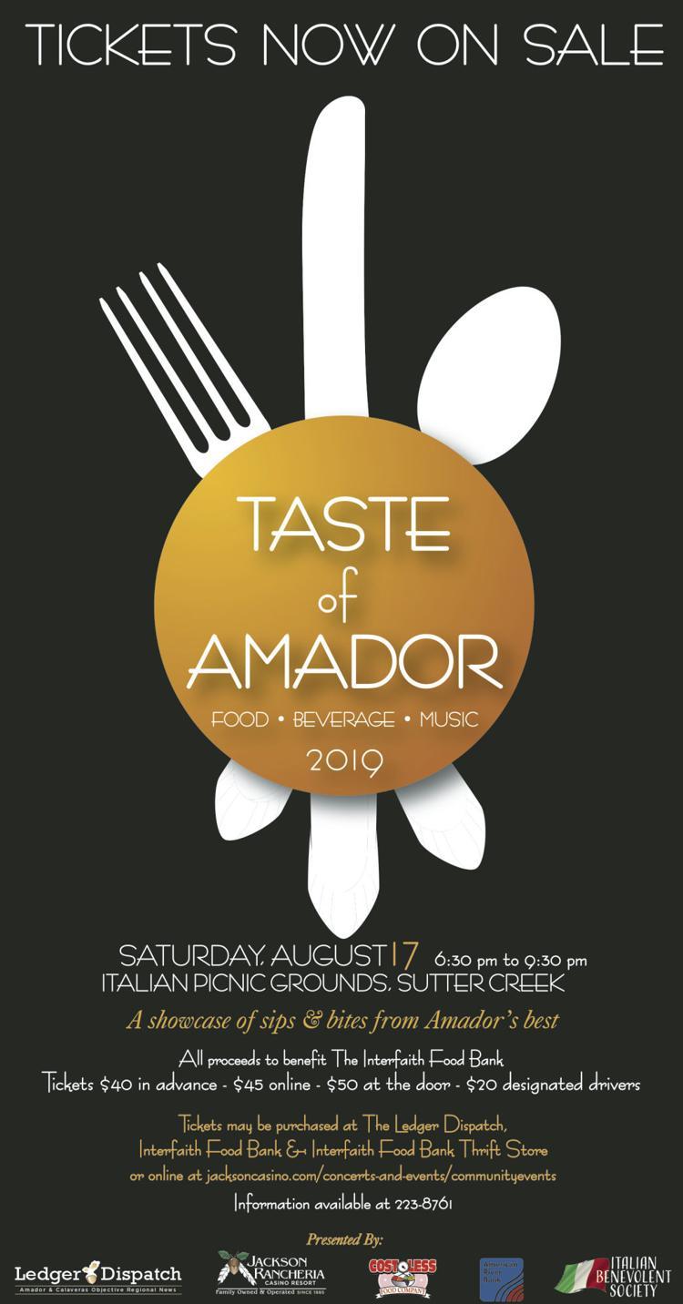 Taste of Amador TOS 7-16-19