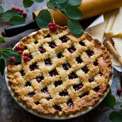 Juneberry Pie