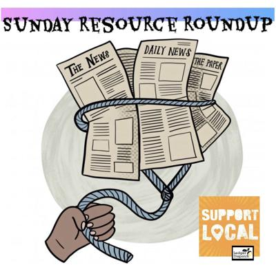 Sunday Resource Roundup