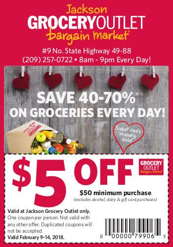 Grocery outlet gift card