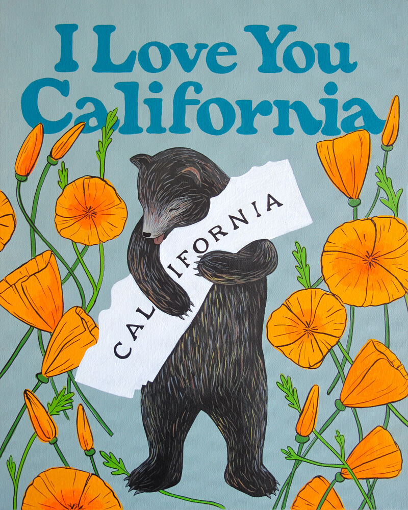 6. You can find many variations of 3 Fish Studio's popular I Love You California prints on their website, created by Annie..jpg