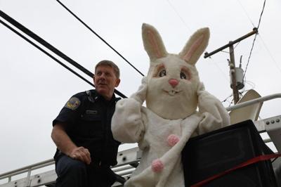 Ken Mackey & Easter Bunny