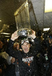 Giants Bochy Baseball