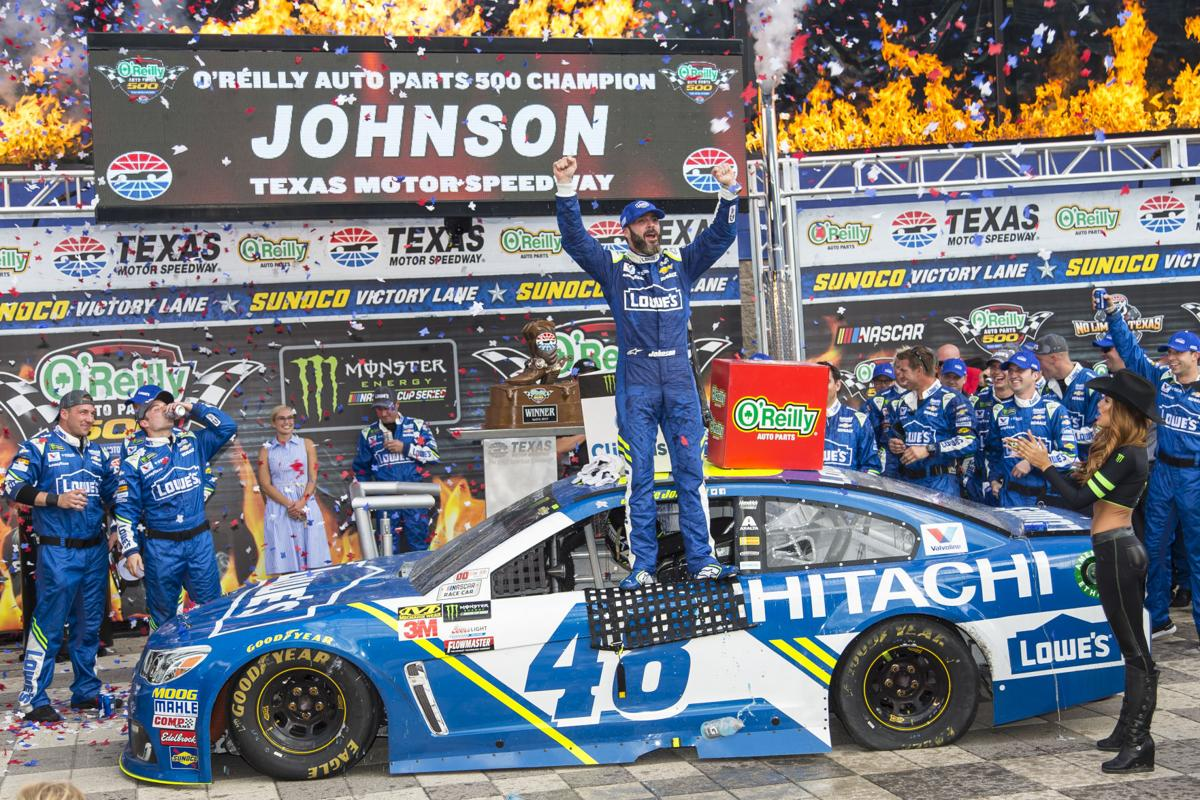 NASCAR: Remember Me? Johnson shakes off sluggish start to 2017 ...