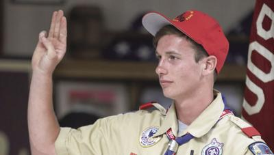 'Once an Eagle Scout, Always  an Eagle Scout.'