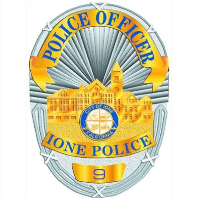 Ione Police Badge