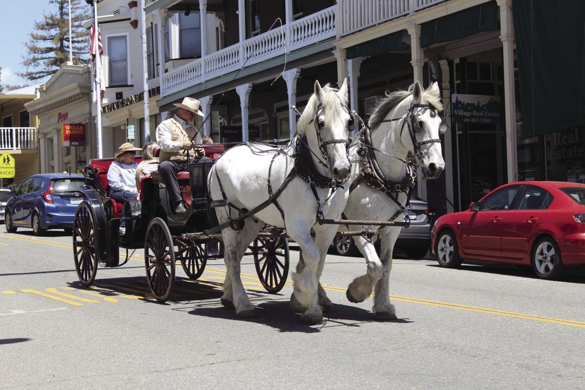 Old-Time Mother\'s Day Carriage Rides in Sutter Creek | On the Vine ...