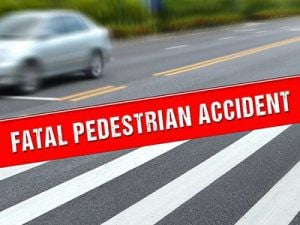 Fatal Pedestrian Accident