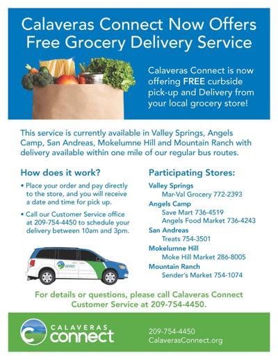 Calaveras Grocery Delivery
