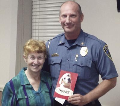 Resident thanks Moscow Mills police