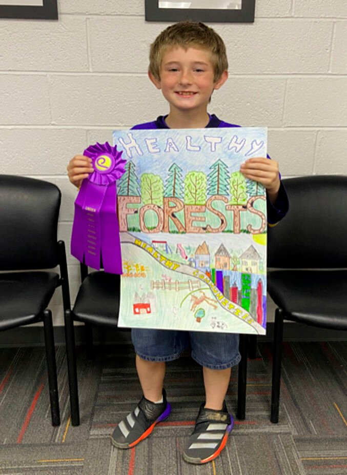 Lincoln County poster winners