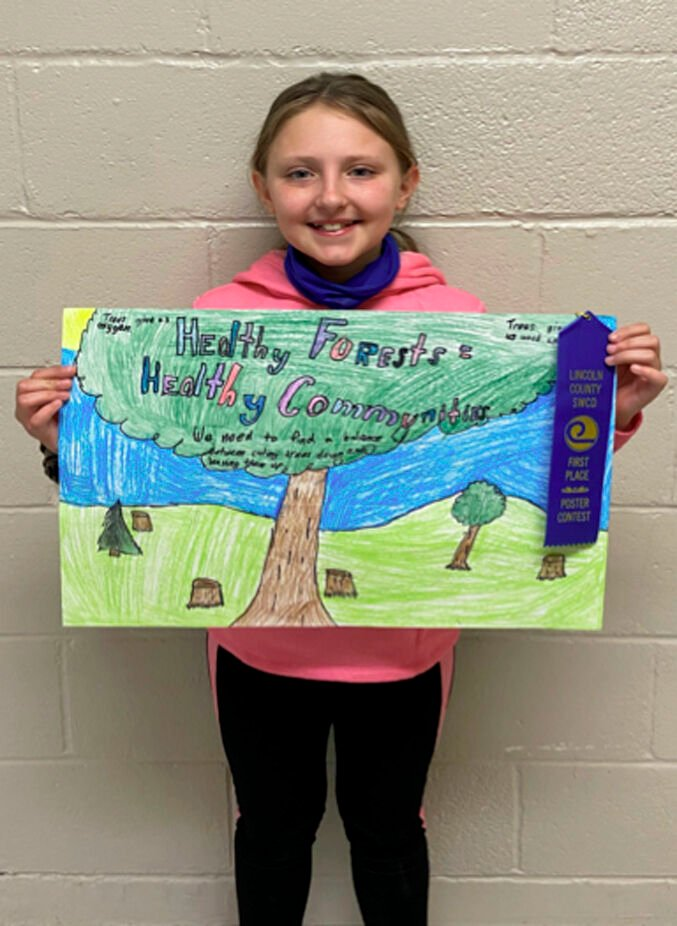 Poster winner second place
