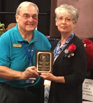 Local retired teacher recognized for good deeds in her community