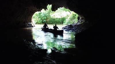 Cave Spring Silhouette