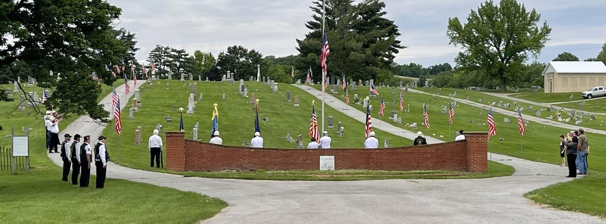 Elsberry Memorial Day service