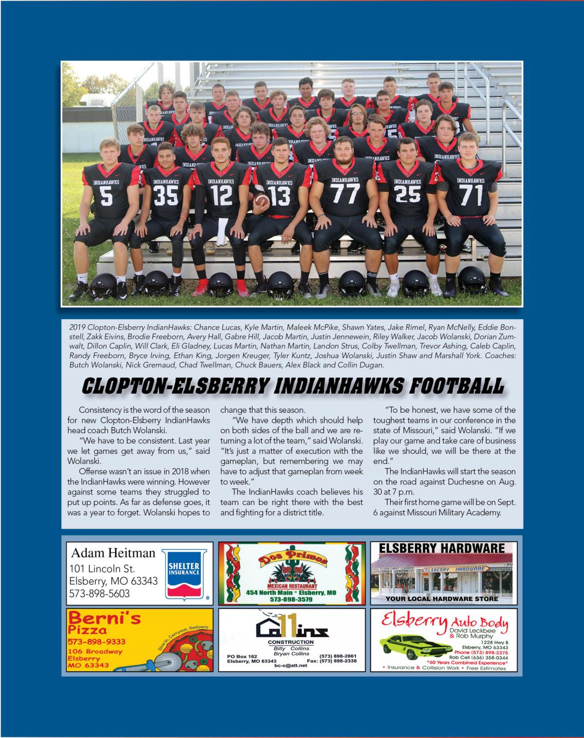 Page 2 Fall Sports Preview