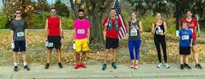 Veterans Day runners with the best times