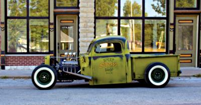 Heritage Festival car show to feature  Akers' 1951 Ford Hot Rod pickup