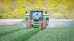 Nitrogen application on crops