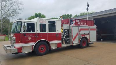 New 2018 fire truck