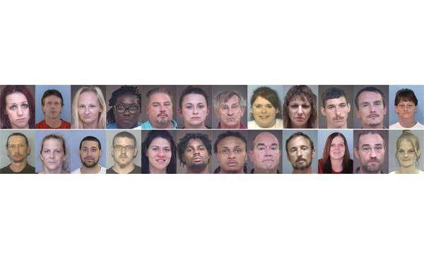 Deputies arrest most of 50 drug suspects targeted in county sweep