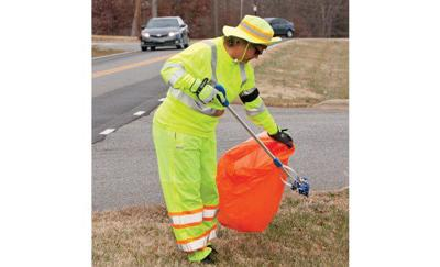 Woman works to beautify county roads