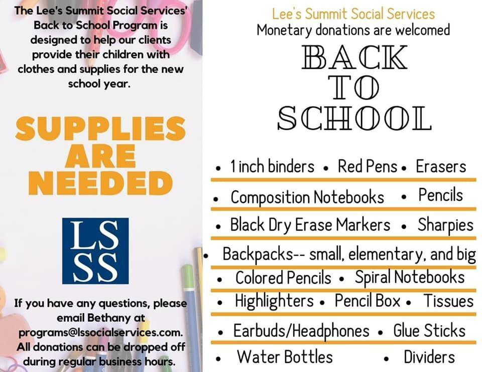 LSSS Supplies