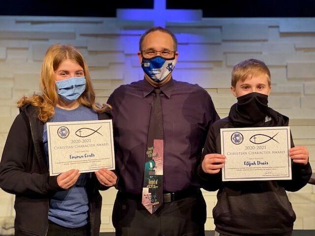 SCA Christian Character Award - Junior High - Feb 2021