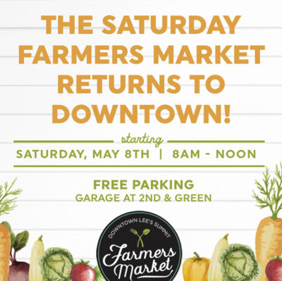 Farmers Market Returns to Downtown LS