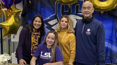 Summit Christian Academy's Finnegan inks letter of intent with Louisiana State University