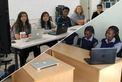 Collaborative effort also includes Summit Technology Academy students, Kenyan students and officials and international business