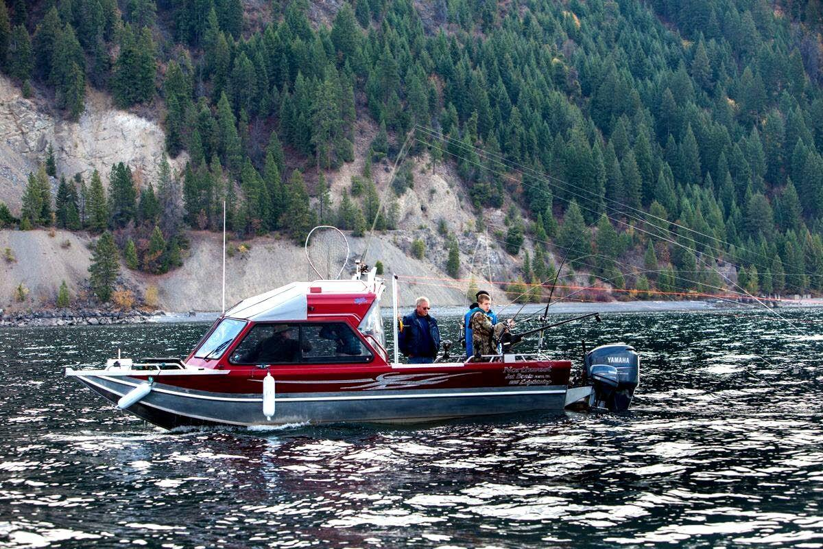 On Lake Pend Oreille, it's a RAINBOW REVIVAL