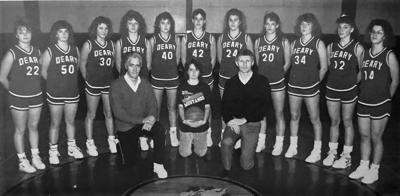 Blast from the Past / 1989: Lining up on the Deary HS court