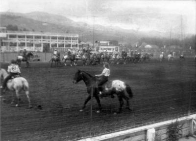 Blast from the Past / 1951: Riding Champ in the Appaloosa Horse Show