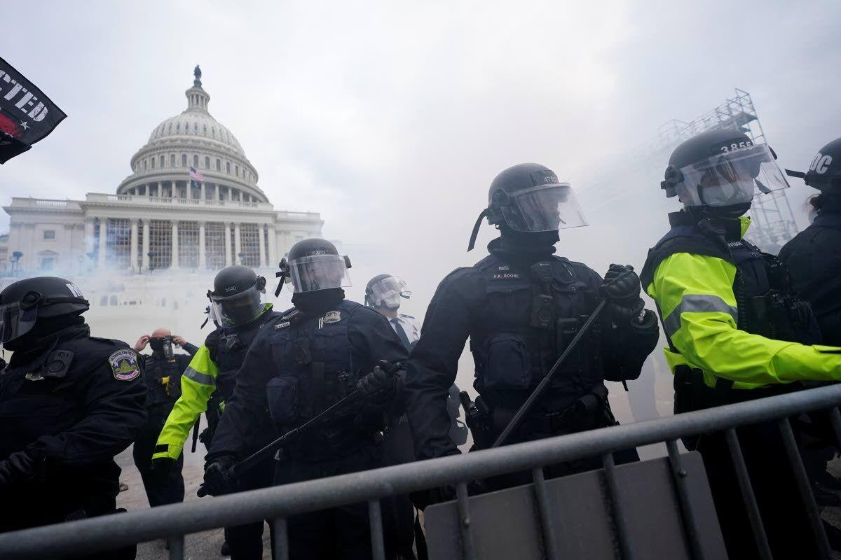 Calls for order, help at Capitol riots