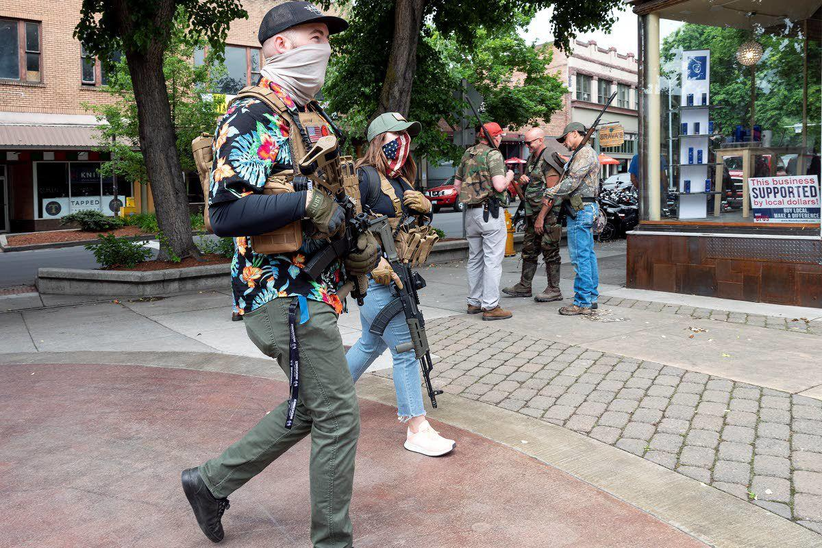 Prosecutor: Armed protesters were likely within bounds