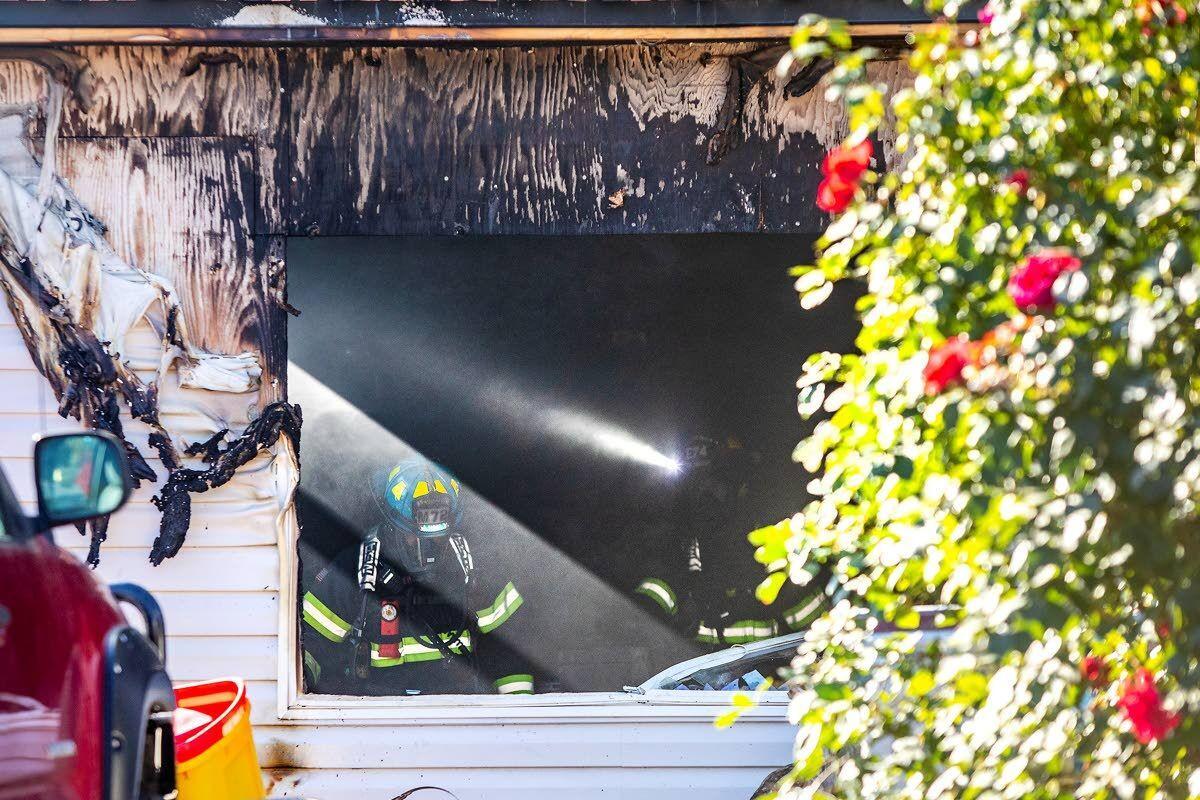 Lewiston house fire