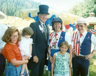 Blast from the Past / 1990: The governor visits Orofino