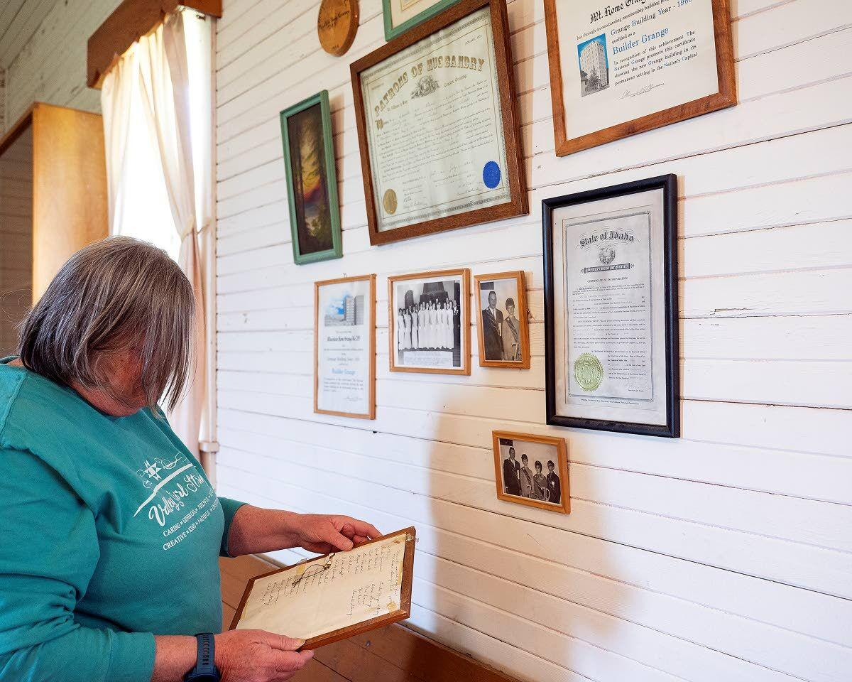 Potlatch residents trying to raise their Grange