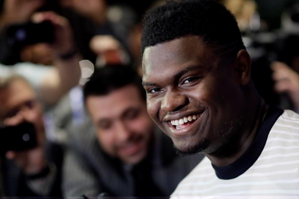 About time Zion took NBA flight