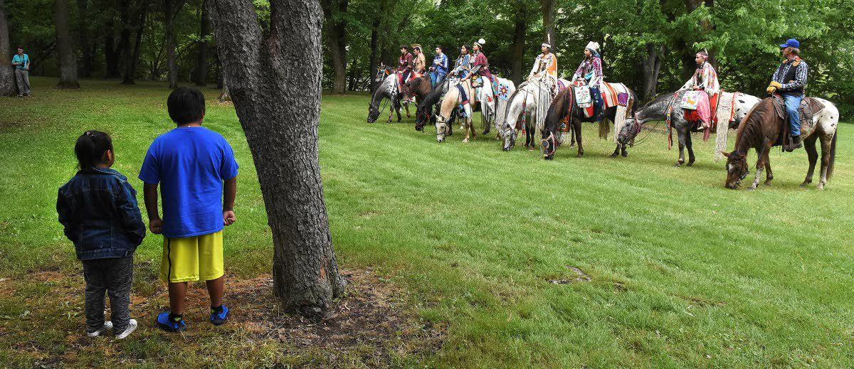 History rides in on horseback