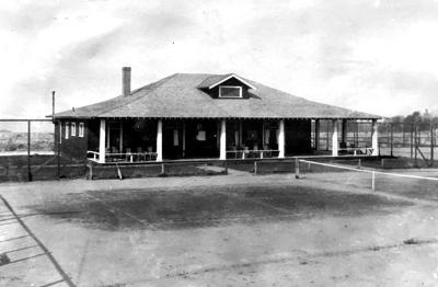 Blast from the Past / 1915: Lewiston Tennis Club's clubhouse