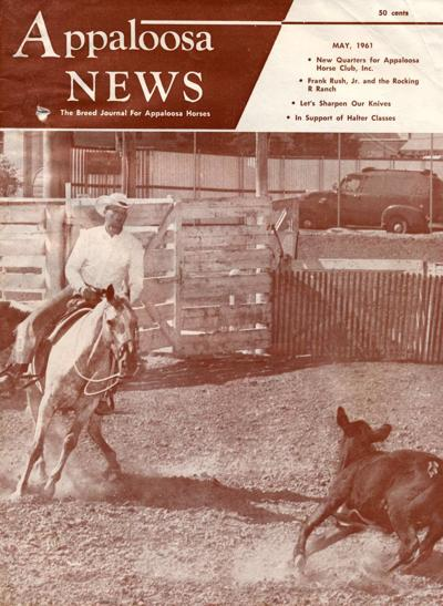 Blast from the Past / 1961: Flake, the Appaloosa 'cover horse'